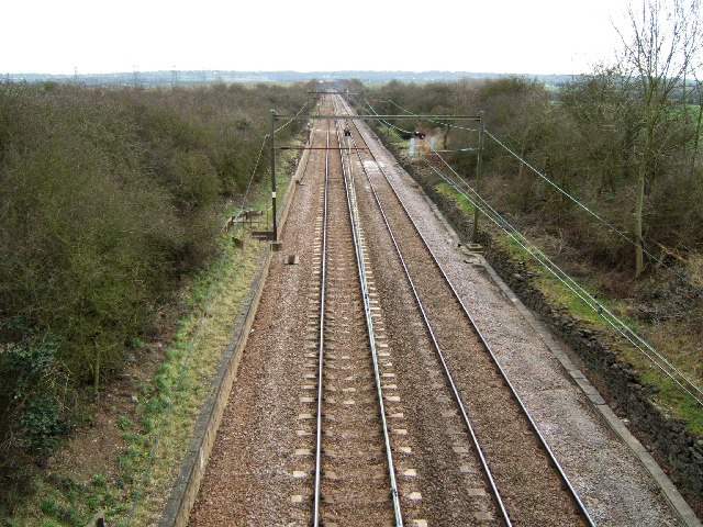 """One"" Railway Looking Towards Rayleigh"