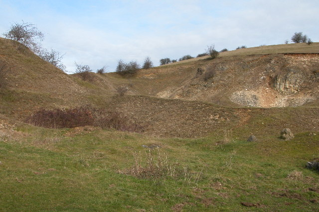 Disused quarry, Whittington
