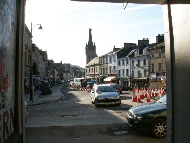 Crossgate from Sun close, Cupar