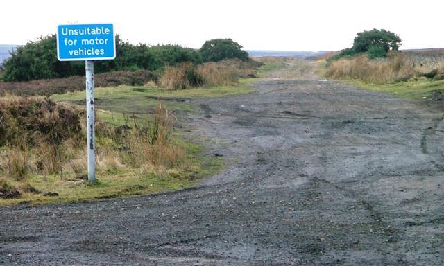 Track Across Gerrick Moor