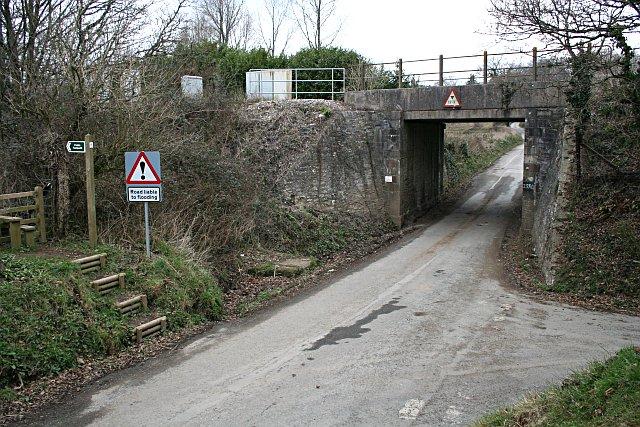 Under the Railway Line
