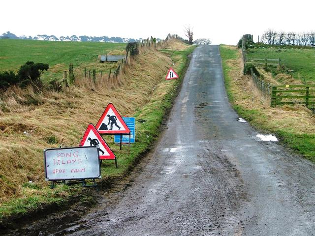 Unclassified Road to Egton Banks