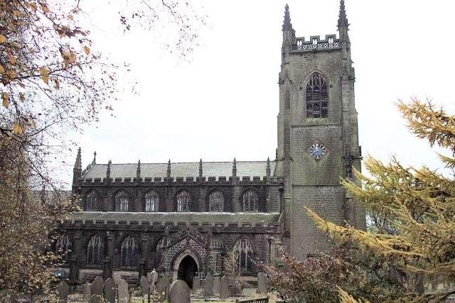 S Thomas a Becket & S Thomas the Apostle Church, Heptonstall