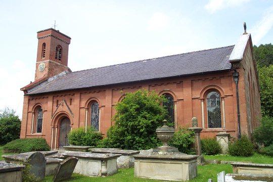 All Saints, Grinshill