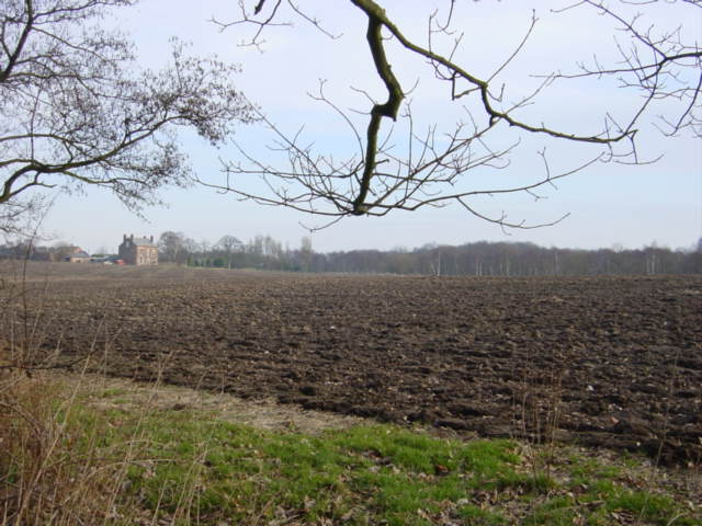 Farmland around Hollin Hay House