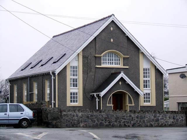 Converted chapel in Llanddaniel Fab
