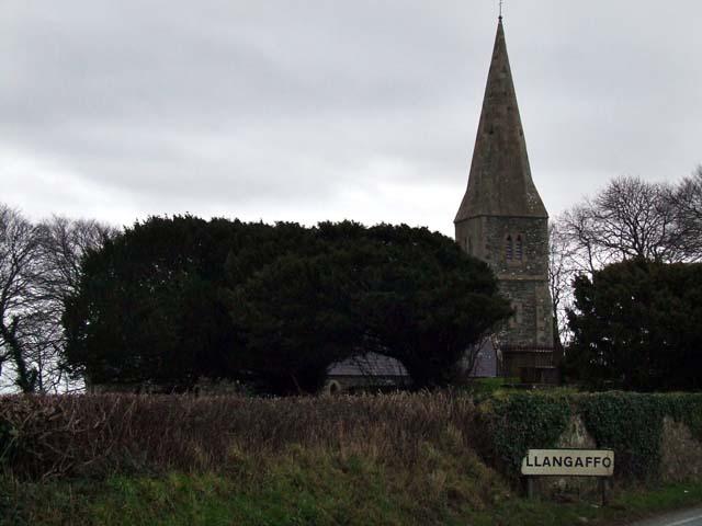 Llangaffo Church