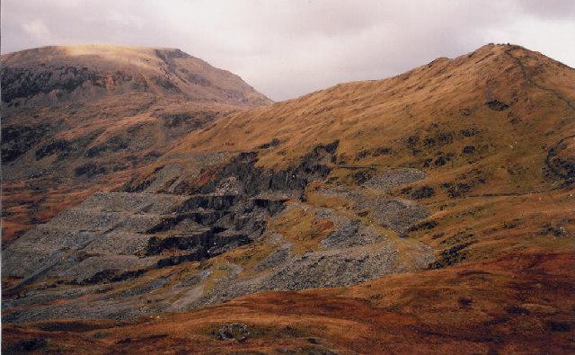 Gorseddau Quarry