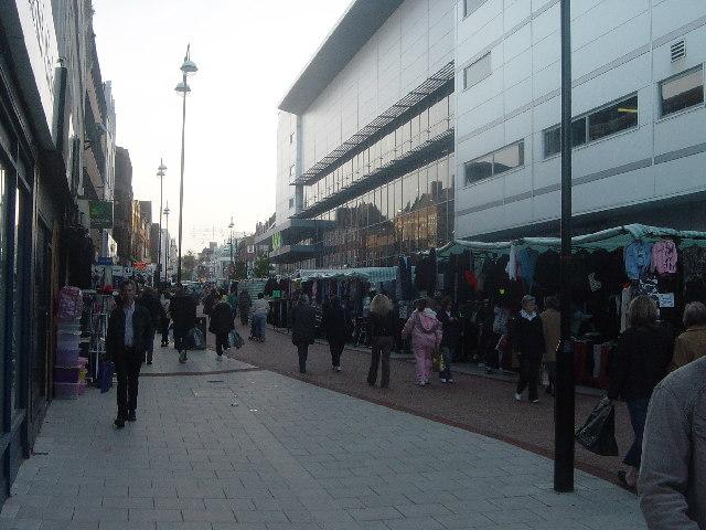 Sutton shopping centre