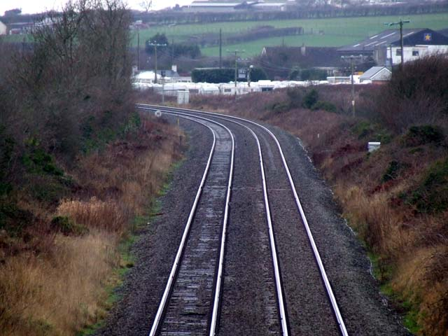 Railway line near to Star