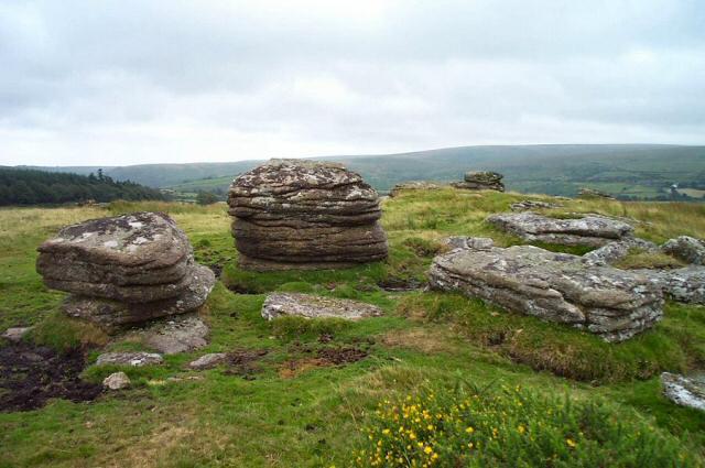 Huccaby Tor - Dartmoor