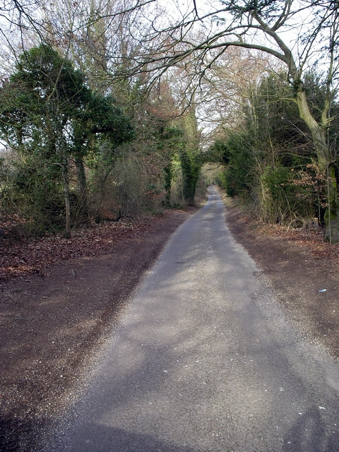 Minor road to Windmill Hill