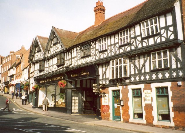 Building opposite the Lion Hotel, Wyle Cop, Shrewsbury