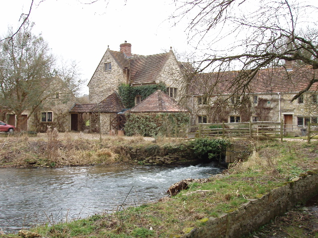Former mill at Fisherton de la Mere
