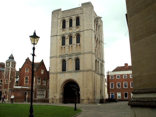 Norman Gate, Bury St. Edmunds, Suffolk