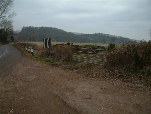 The road to Llanllowell