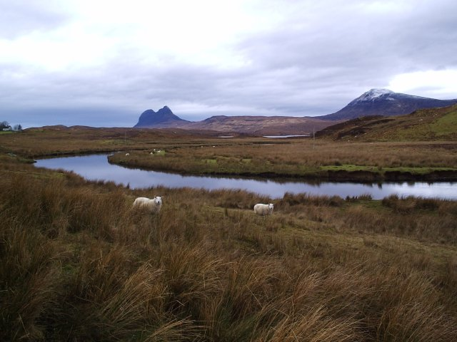 Suilven and Canisp Hills