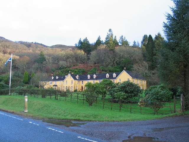Knipoch Hotel on the A816 overlooking Loch Feochan