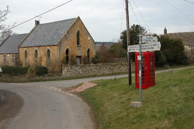 Former chapel in Brockhampton