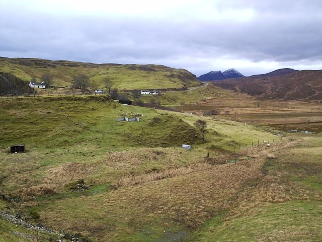 Looking at Knockan Rock