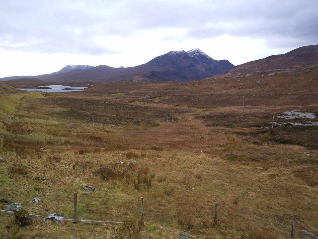 Looking Towards Lochan an Ais