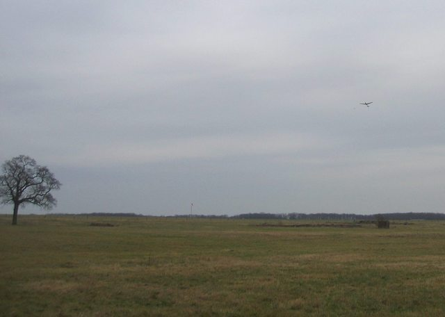 Glider Launch at Snitterfield airfield