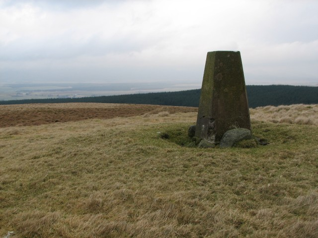 Wether Law trig point