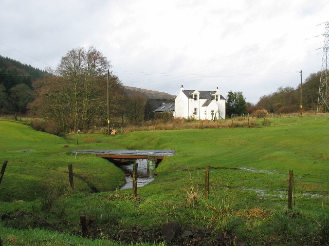 Lochend House on the Kilberry road.