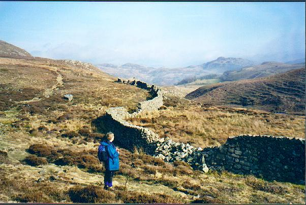 Hill path above Arthog