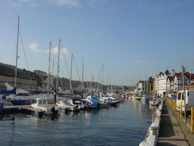 Douglas Harbour looking West