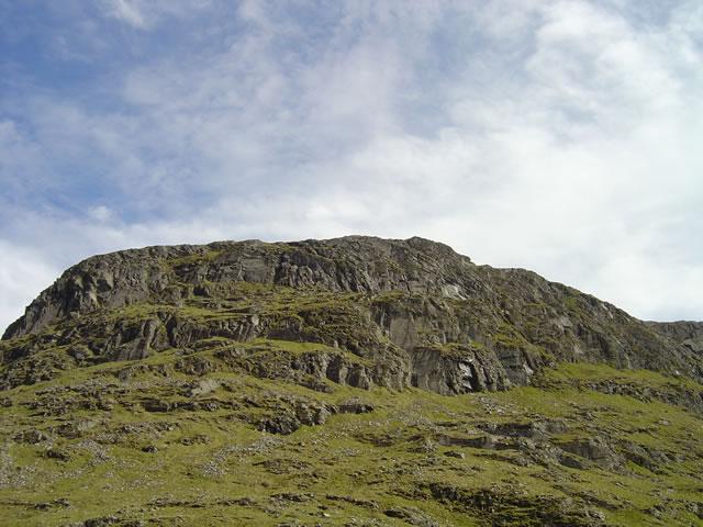 North top of Bidein a' Choire Sheasgaich