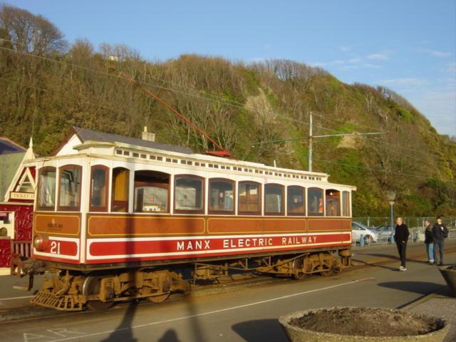 Manx Electric Railway Terminus, Onchan