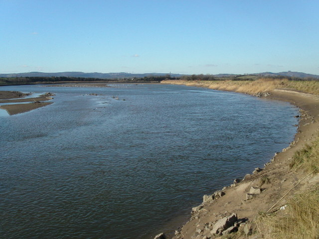 Longney Sands on the river Severn
