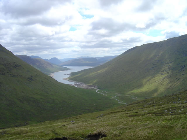 West end of Loch Monar