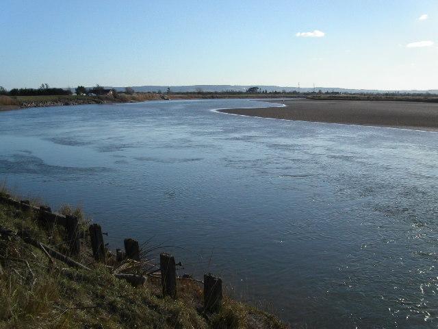 Longney Crib on the river Severn