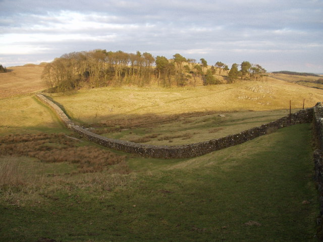 Hadrian's Wall, from Housesteads Roman Fort