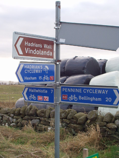 Road Junction on Hadrian's Wall