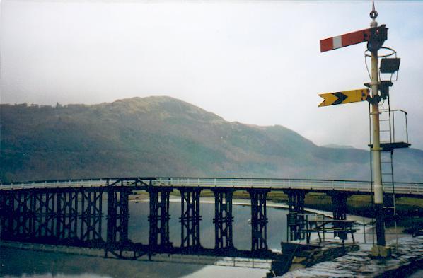 Penmaenpool bridge