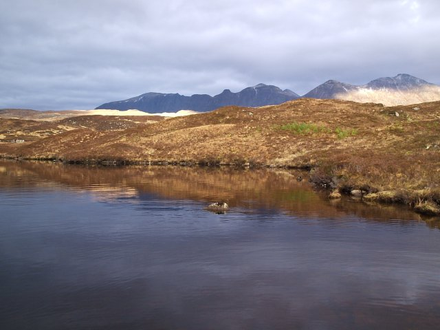 Loch Leitir Easaidh and a view of Quinag
