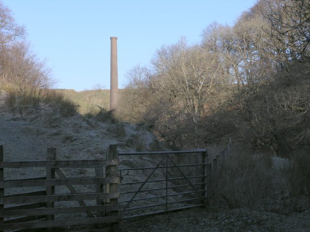 The stack of abandoned mine workings