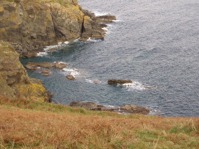 Pyg rock below Hot Point