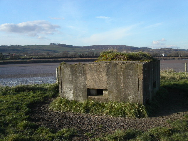 Pill Box on the Severn