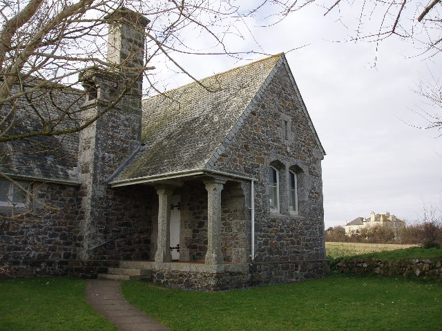 Church hall, Lizard Town