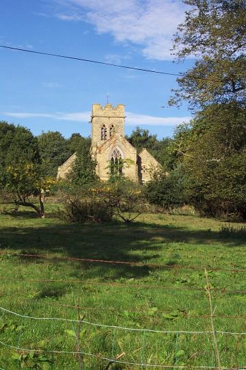 Burwarton:  Former Church of St. Lawrence
