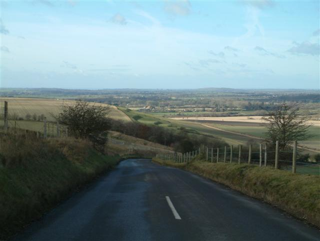 The North Face of Pewsey Hill