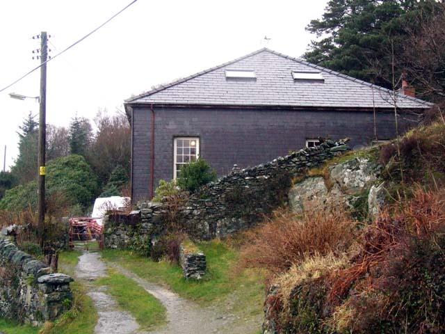 Converted chapel at Fachwen