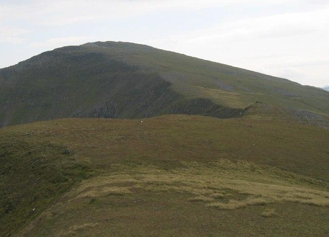 North West ridge of Sgurr nan Ceathreamhnan