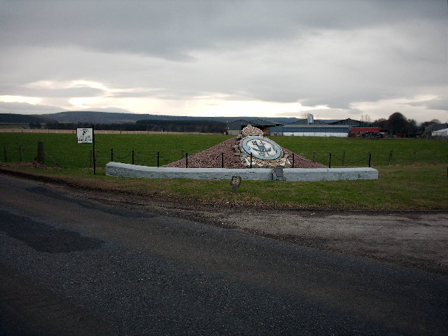 Bogs of Mayne Memorial near Elgin