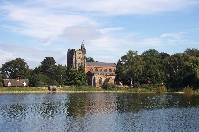 St. Chad's Church and Stowe Pool