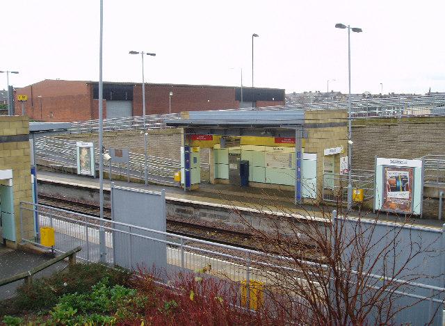 Millfield Metro Station, Sunderland